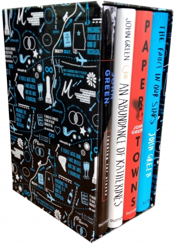 John Green Collection 4 Books Deluxe Box Set by John Green