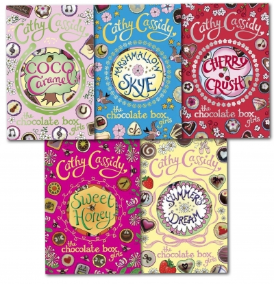 Chocolate Box Girls Collection Cathy Cassidy 5 Books Set by Cathy Cassidy
