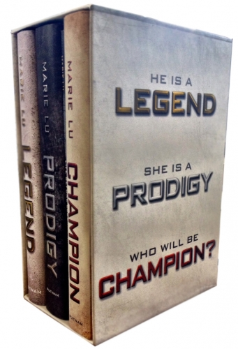 The Legend Trilogy 3 Book Box Set Marie Lu Collection Legend, Prodigy, Champion by Marie Lu
