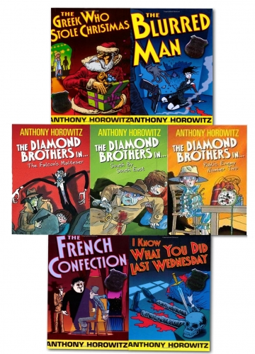 Diamond Brothers 7 Books Collection by Anthony Horowitz
