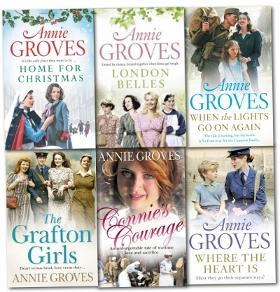 Annie Groves 6 Books Collection Pack Set 9788033641902
