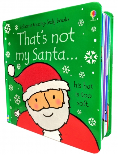 Thats Not My Santa (Touchy-Feely Board Books), toddlers book by Fiona Watt