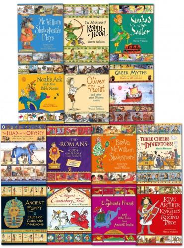 Marcia Williams Children 14 Books Set Illustrated Story Collections Gift Set New by Marcia Williams