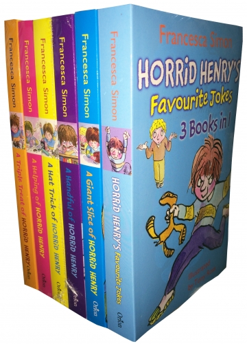 Horrid Henry Books Collection 18 Titles in 6 Books Set by Francesca Simon