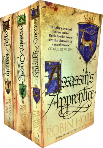 The Farseer Trilogy Robin Hobb Collection 3 Books Set Pack (Assassin's Apprentice, Royal Assassin, Assassin's Quest) by Robin Hobb