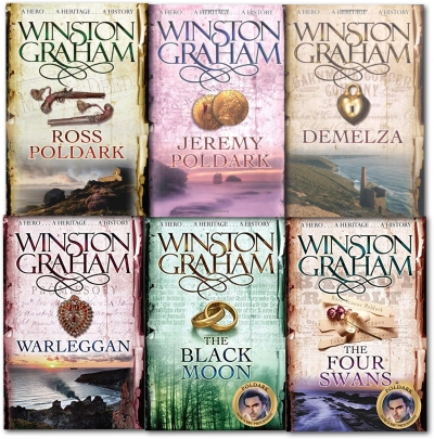 Poldark Book 1-6 By Winston Graham Collection Set by Winston Graham