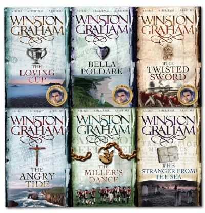 Poldark books By Winston Graham Poldark Series 6 Books Collection Set (7-12) by Winston Graham