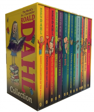 Roald Dahl 15 Book Collection Box Set by Roald Dahl