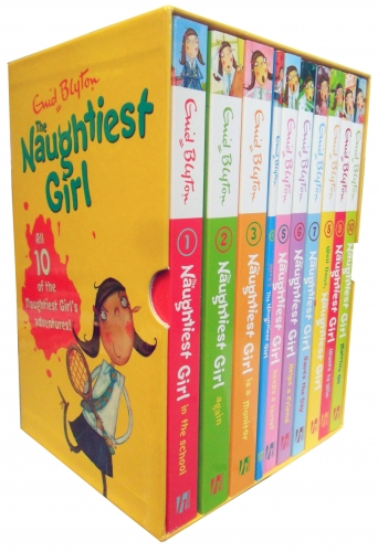 enid blyton the naughtiest girl collection 10 books box
