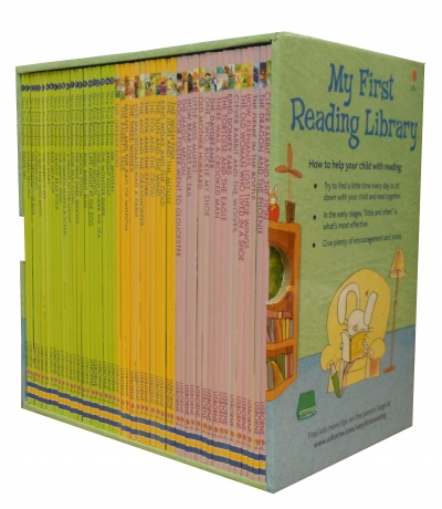 Usborne Very First Reading Library 50 Books Set Collection Pack - Read At Home by Usborne
