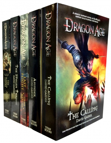 David Gaider Dragon Age Series 5 Books Collection Set by David Gaider