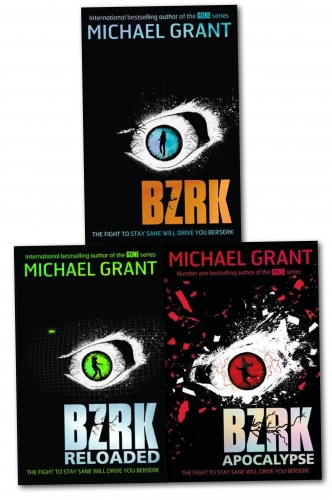 Michael Grant BZRK 3 Books Collection Set by MICHAEL GRANT