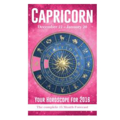 Your Horoscope 2016 Book, 15 Month Forecast, Zodiac Sign, Future Reading, Tarot Capricorn by Igloo Books