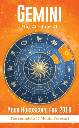 Your Horoscope 2016 Book, 15 Month Forecast, Zodiac Sign, Future Reading, Tarot Gemini by Igloo Books