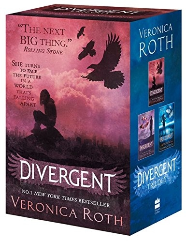 Veronica Roth Divergent Insurgent Allegiant 3 Books Collection Box Gift Set Pack by Veronica Roth