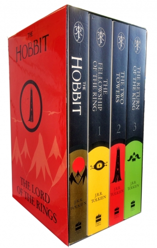 J R R Tolkien The Hobbit The Lord Of The Rings 4 Books Collection Set Classic by J. R. R. Tolkien