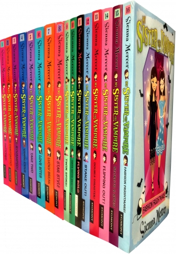 My Sister the Vampire the Complete Collection 16 Books Set by Sienna Mercer