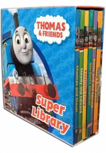 Thomas and Friends Super Library 6 Book Set Collection by Egmont