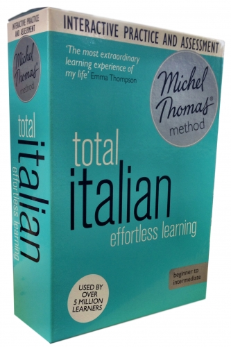 Total Italian with the Michel Thomas Method inc Practice & Test (CD-Audio) by