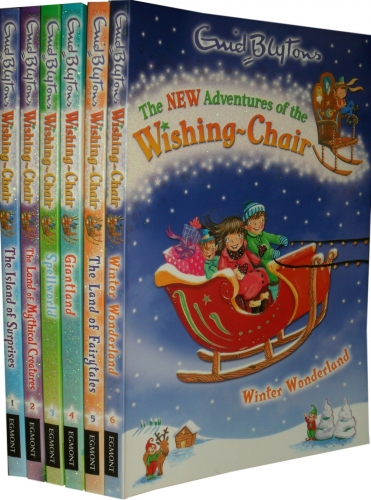 Enid Blyton Books Adventures of the Wishing Chair 6 Books Collection Set by Enid Blyton