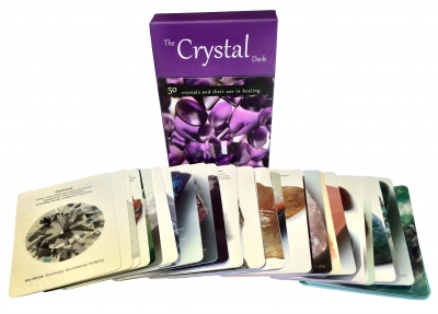 The Crystal Deck Tarot Cards Deck Set Pack Psychic Read Mind Body Spirit Astrology by Bounty