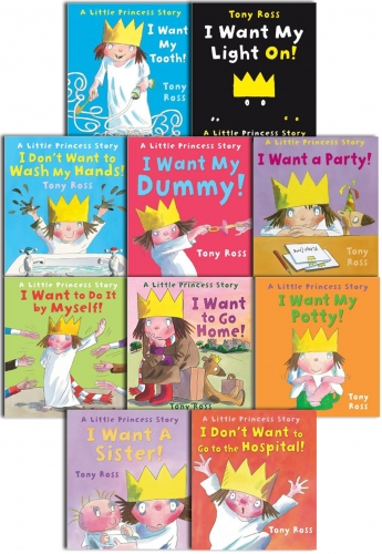 A Little Princess Story Collection Tony Ross 10 Book Set Series 1 by Tony Ross