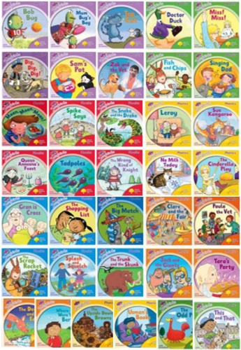 Oxford Reading Tree Songbirds Collection 36 Phonics Books Full Set Level 1 to 6 by Julia Donaldson