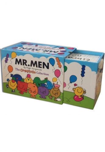 Mr Men Complete Collection 50 Book Box Gift Set by Roger Hargreaves (2014 Edition) by Roger Hargreaves