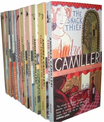 Andrea Camilleri Inspector Montalbano Mysteries 10 Books Collection Set (Series 1) by Andrea Camilleri