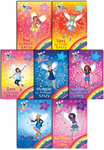 Rainbow Magic Series 14 Twilight Fairies - 7 Books Set Collection Pack Books 92 to 98 by Daisy Meadows