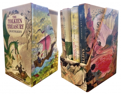 The Tolkien Treasury Collection 4 Books Box Gift Set Pack by J. R. R. Tolkien