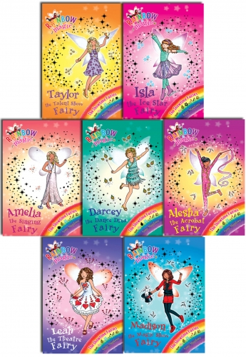 Rainbow Magic Series 15 Showtime Fairies 7 Books Collection Pack Set, Books 99 to 105 by Daisy Meadows
