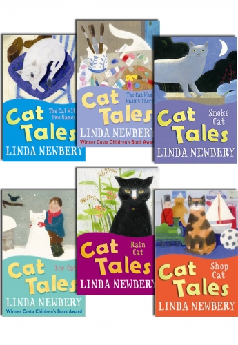 Cat Tales Collection 6 Books Set (Cat Tales) by Linda Newbery