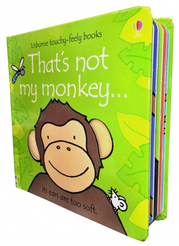 Thats Not My Monkey (Touchy-Feely Board Books) by fiona watt