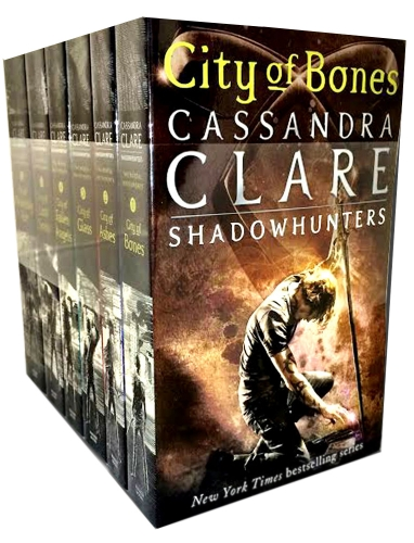 Cassandra Clare Set 6 Books Collection Mortal Instruments Series Heavenly Fire by Cassandra Clare