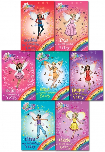 Rainbow Magic Series 16 Princess Fairies Collection Set Pack Books 106-112 by Daisy Meadows