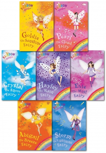Rainbow Magic - Series 2 Weather Fairies Collection 7 Books Pack Set (Books 8 to 14) by Daisy Meadows