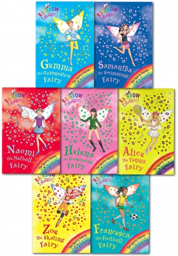 Rainbow Magic Series 9 Sporty Fairies Collection 7 Books Set (Books 57 To 63) by Daisy Meadows