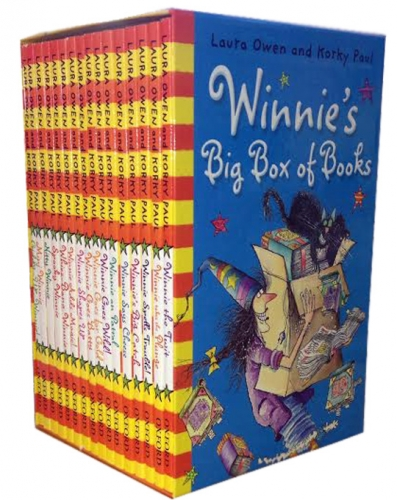 Winnie the Witch Big Box of Books Collection 16 Books Box Children Gift Set Pack by Laura Owen and Korky Paul