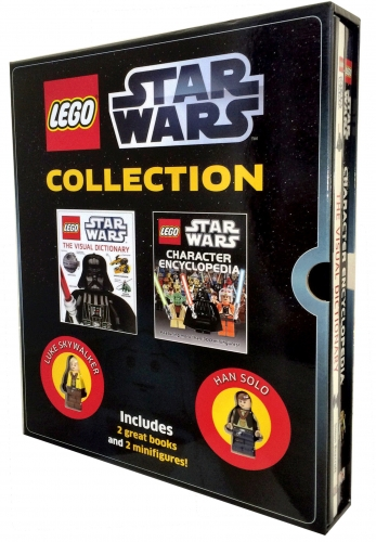Lego Star Wars Children Collection 2 Books Box Gift Set Includes 2 Mini figures by Dorling Kindersley