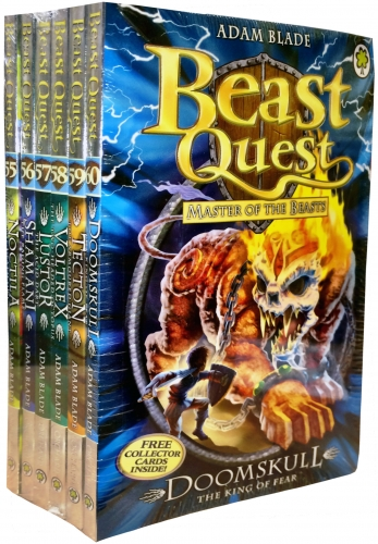 Beast Quest Series 10 6 Books Collection Pack Set Books