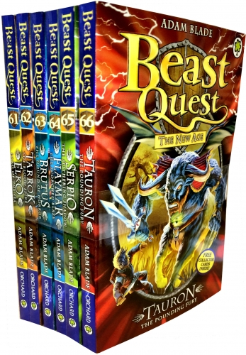 Beast Quest Series 11 The New Age 6 Books Collection Set Books 6166 9783200328853 Buy Books