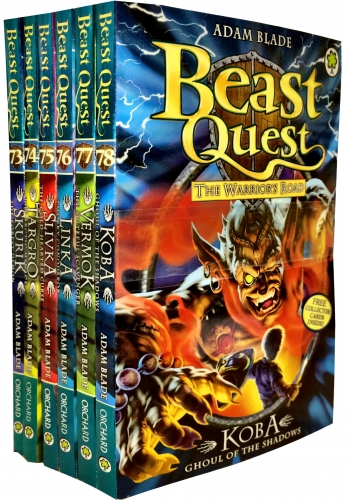 Beast Quest Series 13 Collection 6 Book Set Adam Blade (73-78) by Adam Blade