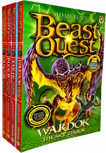Beast Quest Series 15 Velmals Revenge Collection 4 Books Collection Pack Set by Adam Blade