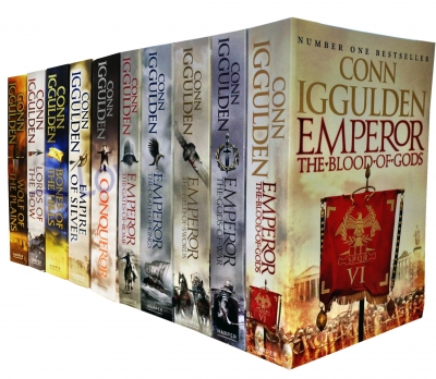 Conn Iggulden Emperor & Conqueror Series 10 Books Collection Set by Conn Iggulden