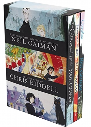 Neil Gaiman & Chris Riddell 3 Books Collection Box Set by Neil Gaiman (Author), Chris Riddell (Illustrator)