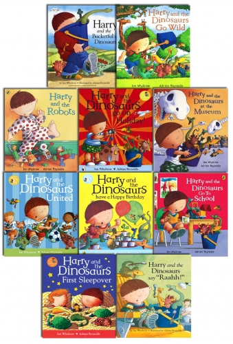 Harry And The Bucketful Of Dinosaurs Collection 10 Books Set Pack by Ian Whybrow