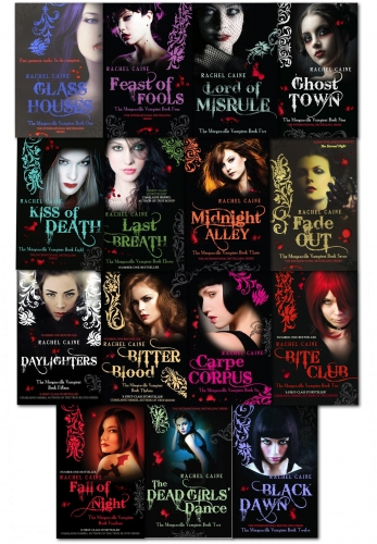 Morganville Vampires, Series 1 to 3 By Rachel Caine 15 Books Collection Set by Rachel caine