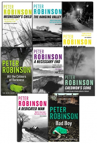 Peter Robinson 8 Books Collection Set by Peter Robinson