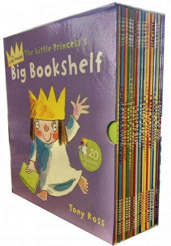 Little Princess Big Bookshelf Collection Tony Ross 20 Children Books Set by Tony Ross